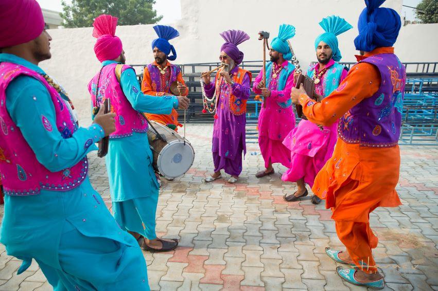 Traditional Punjabi Dancers