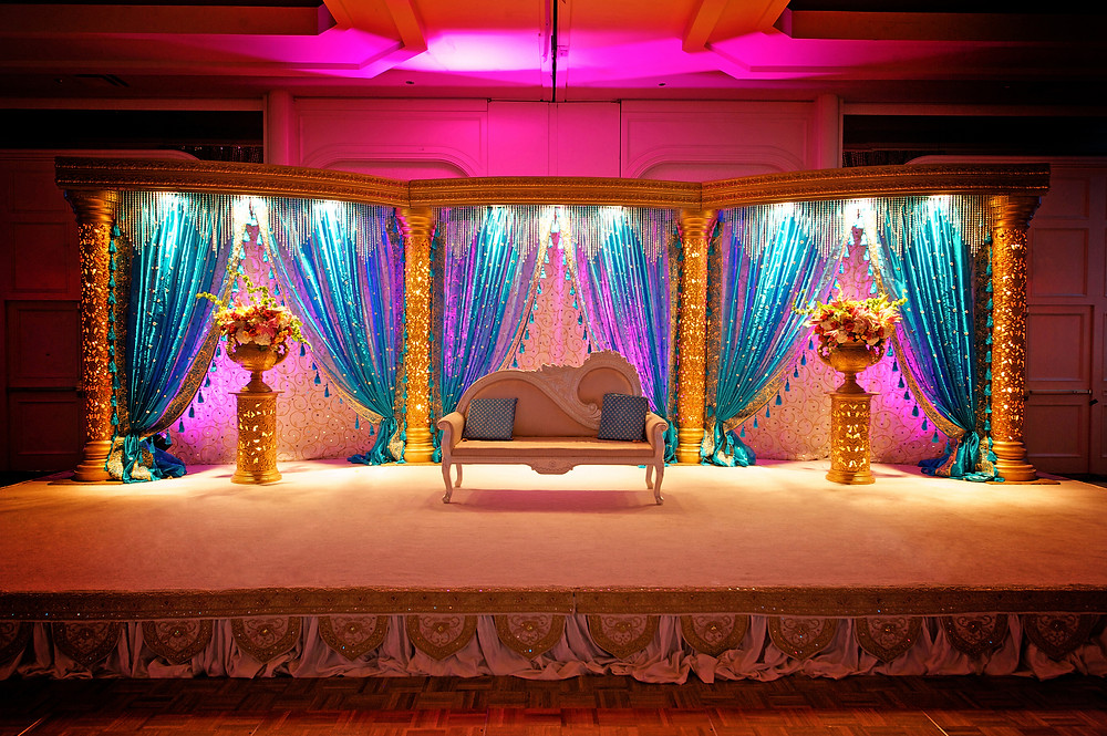 The Bride & Grooms Stage