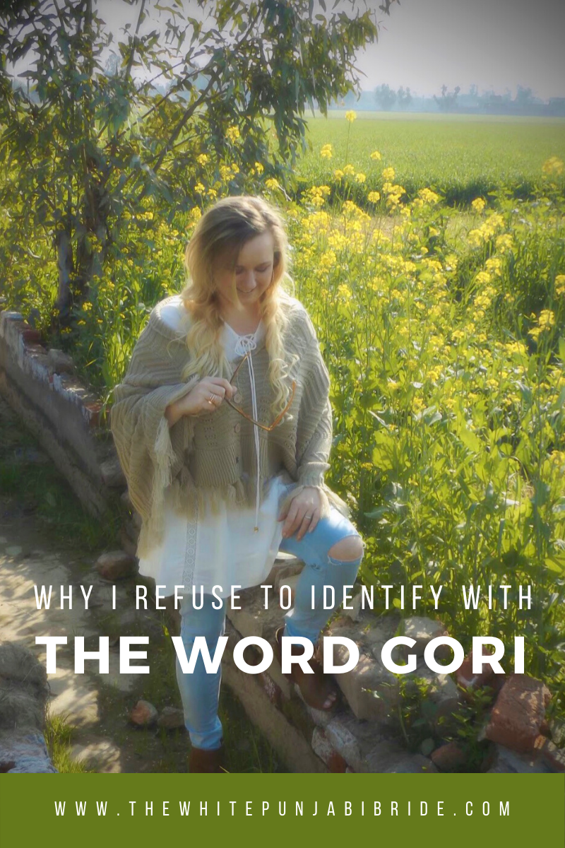 Why I Refuse To Identify With The Word 'Gori'