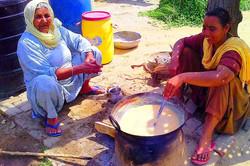 Punjabi Women Cooking