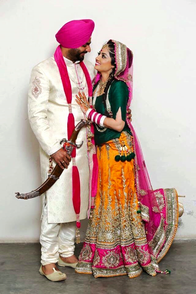 The Punjabi Bride & Groom