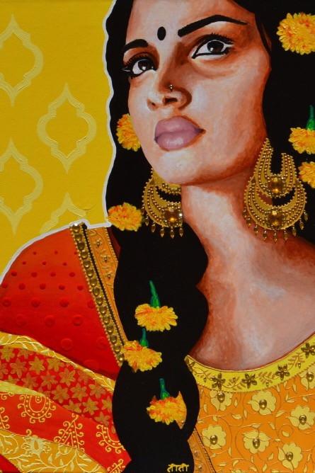 Elodie Mondelice Artwork 'Bhanupriya'