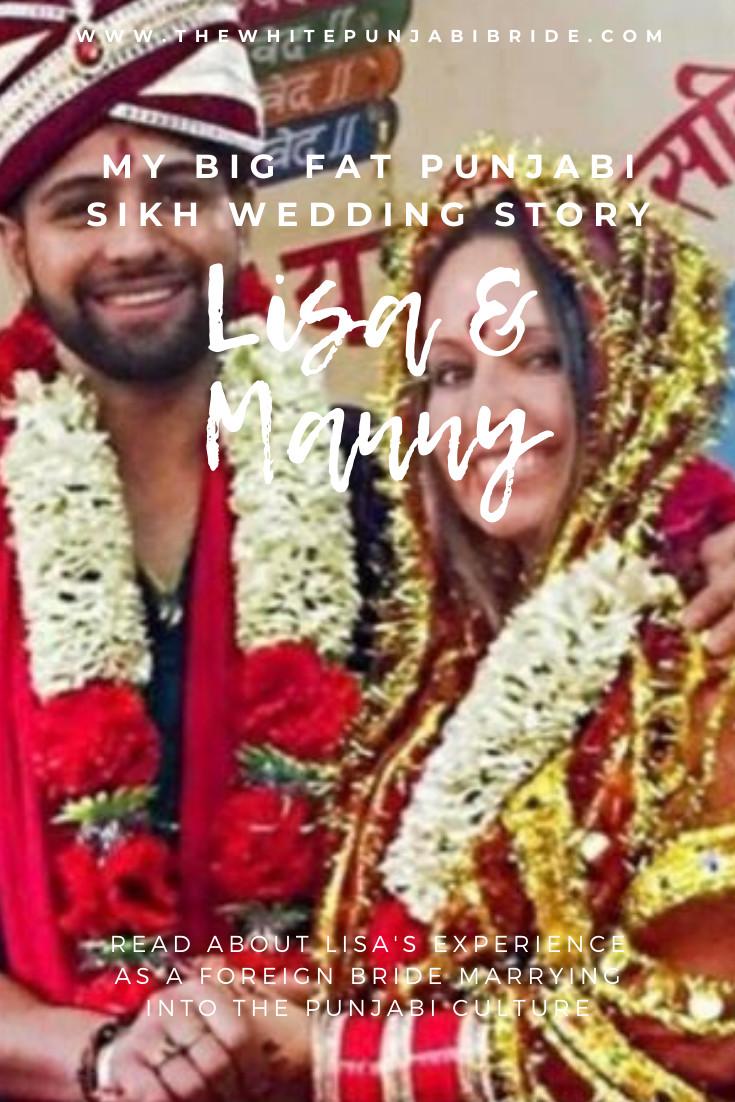 My Big Fat Punjabi-Sikh Wedding Story: Lisa & Manny