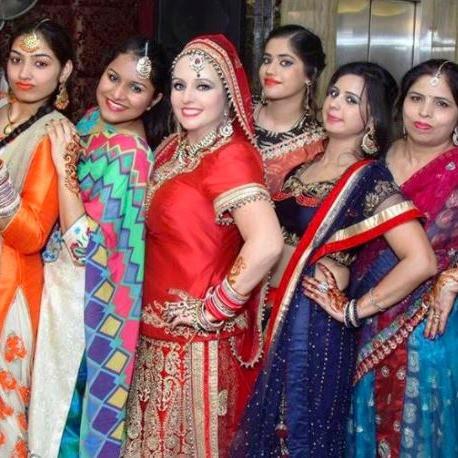 The Bride & Her Ladies