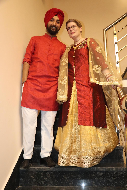 Aman & Krista On Their Jaago Night