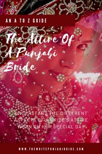 The Attire Of A Punjabi Bride