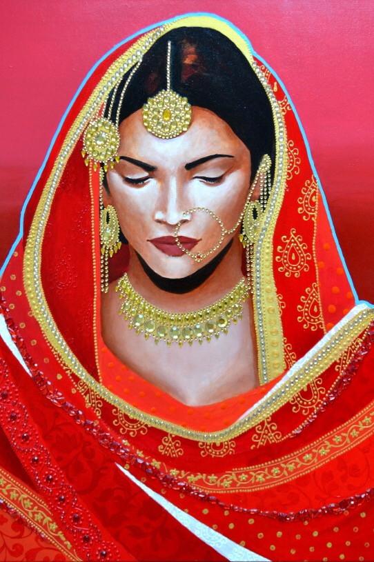 Elodie Mondelice Artwork 'Ishana'