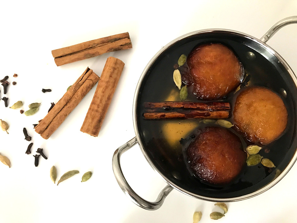 Indian Spiced Gulab Jamun's - Soak Overnight