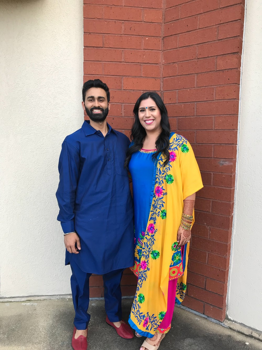 Marisa & Pawan Dressed For Jaago Celebrations