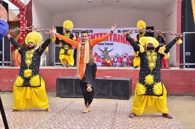 Traditional Punjabi Dancers