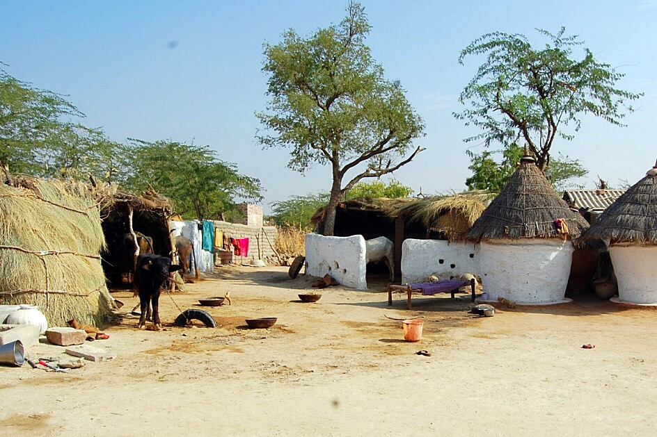 Slums On The Side Of The Road