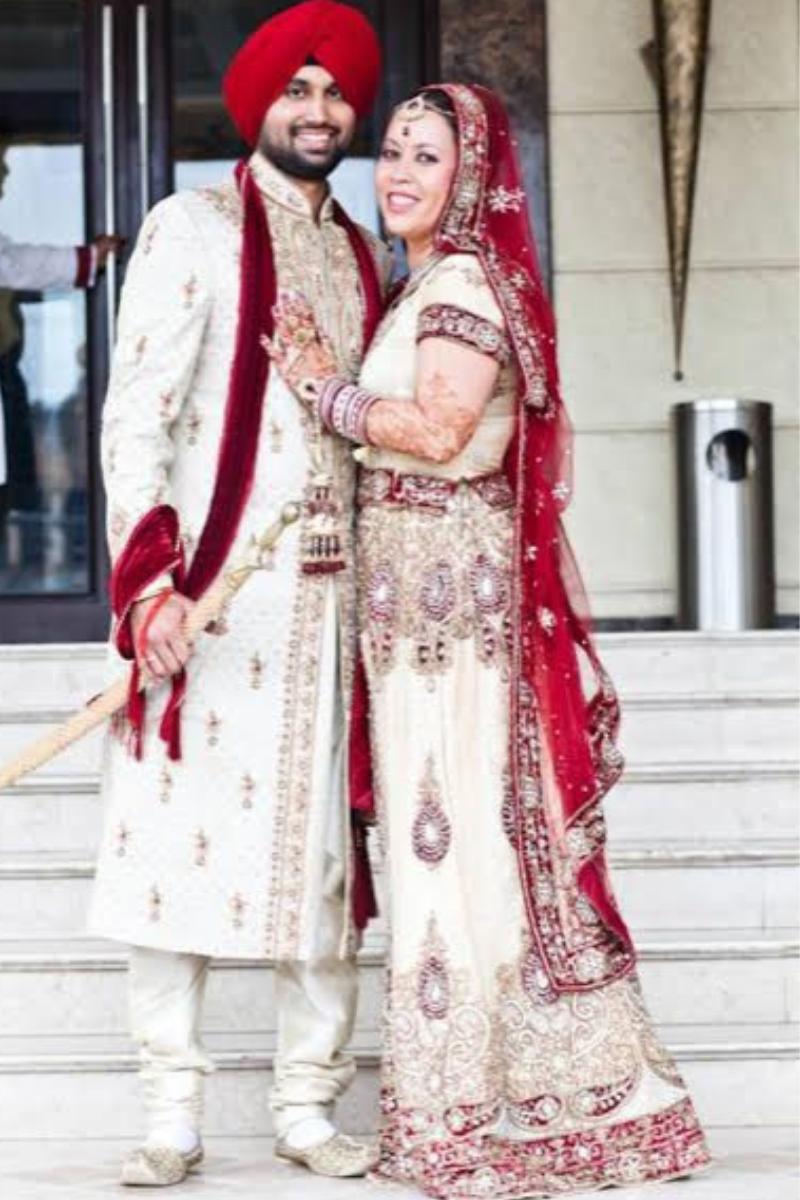 The Punjabi Bride & Groom! Photo Credit: JLee Imagery