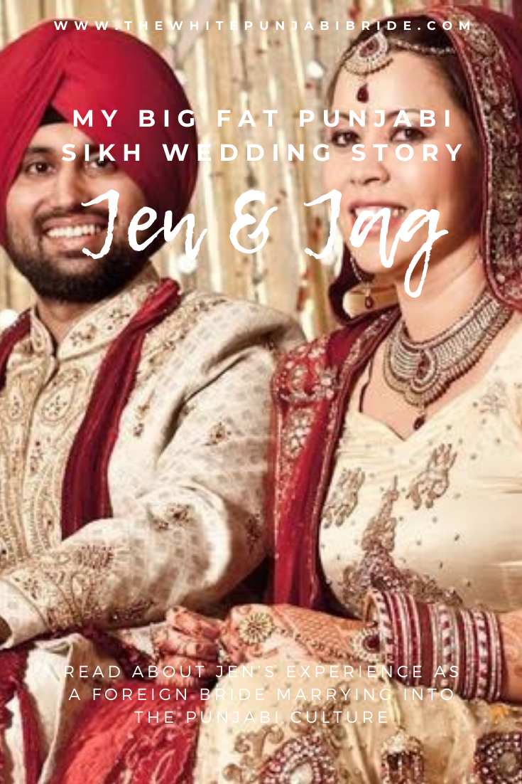 My Big Fat Punjabi Sikh Wedding Story: Jen & Jag