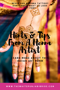Hints & Tips From A Henna Artist