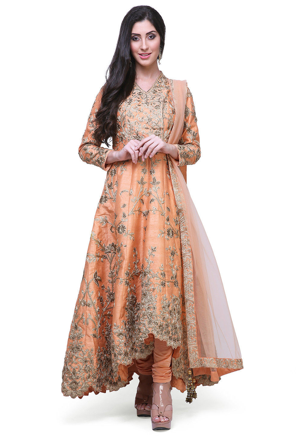 The Anarkali Suit