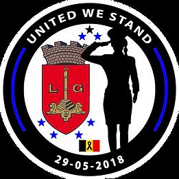Logo, BelgianBlueLine, Belgian Blue Line, Thin Blue Line, Police, Politie, Belgium, Belgique, Belgïe, United We Stand, UWS, Liège