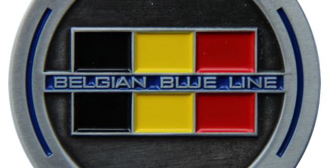 Coin-Pièce Thin Belgian Blue Line