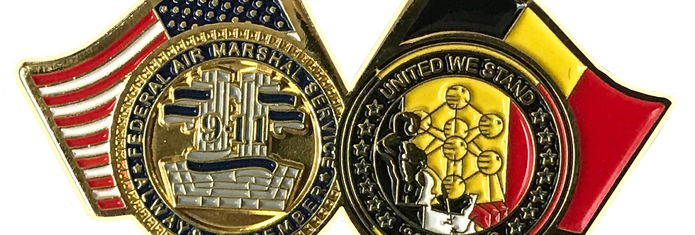 PIN'S Federal Air Marshal 9/11 - United we stand 22/03