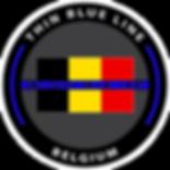 Logo, BelgianBlueLine, Belgian Blue Line, Thin Blue Line, Police, Politie, Belgium, Belgique, Belgïe