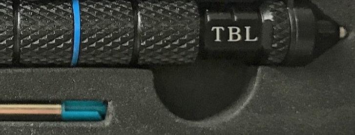 Tactical pen - Thin Blue Line