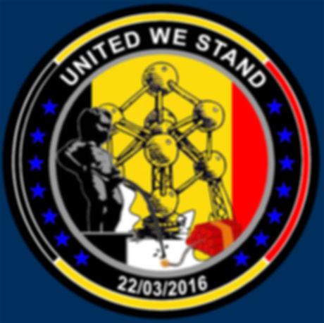 Logo, BelgianBlueLine, Belgian Blue Line, Thin Blue Line, Police, Politie, Belgium, Belgique, Belgïe, United We Stand, UWS