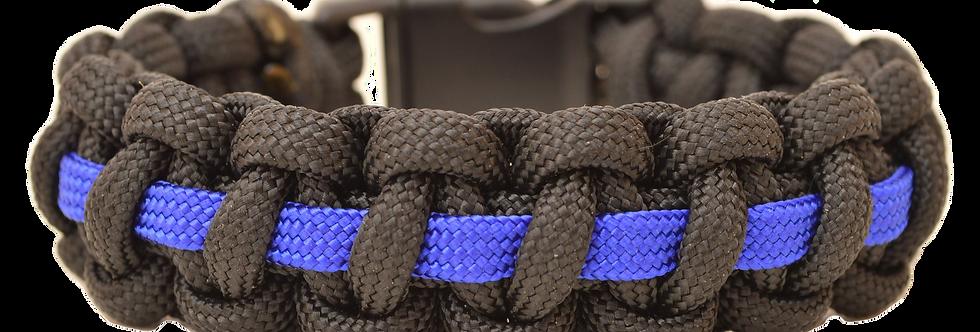 "Bracelet / Armband / Wristband ""Thin Blue Line"""