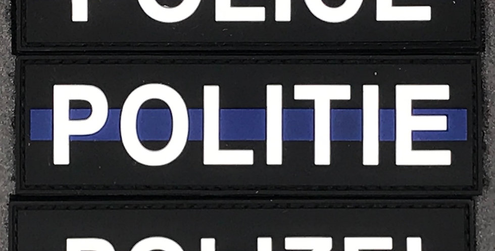 POLICE - POLITIE - POLIZEI PVC - Small
