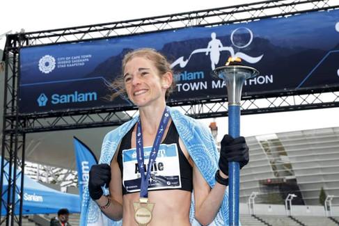 Bothma, Mothibi take top honours in virtual marathon