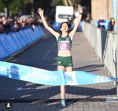 Our Totalsports Women's Race 2019 Cape Town winner,Congratulations Annie on your 2nd consecutive win!