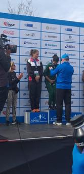 Nedbank Running Club's Annie Bothma first SA woman home at Cape Town Marathon