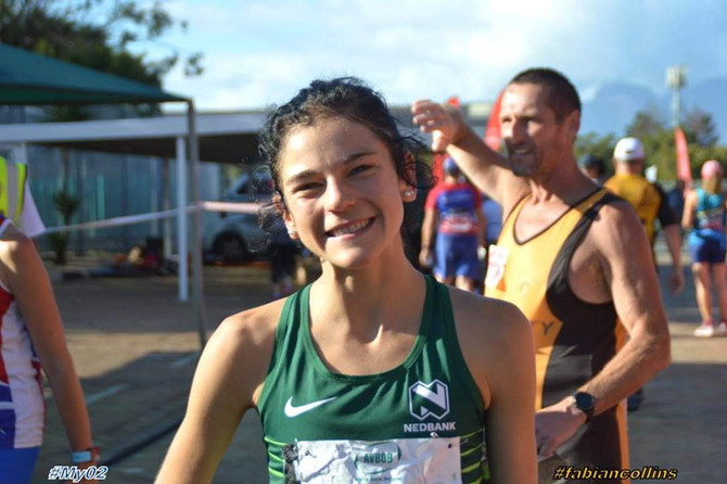 Winning the AVBOB 15km the fastest time by any senior female athlete for 2018