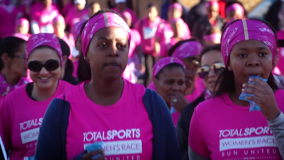 Highlights of the TotalSports 10K Ladies Cape Town