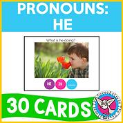 Pronouns: He