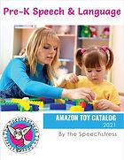 Pre-K Speech and Language Amazon Toy Catalog