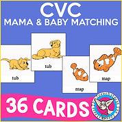 CVC Mama & Baby Matching Game