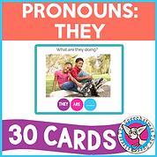 Pronouns: They