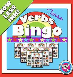 Past Tense Verbs Bingo