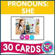 Pronouns: She