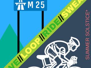 Fancy A Loop De Loop Of The M25? Birthday/Summer Solstice.