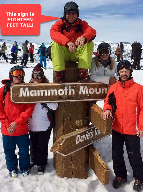 Mammoth Stay #4 - March 12 - 14, 2021 - Member