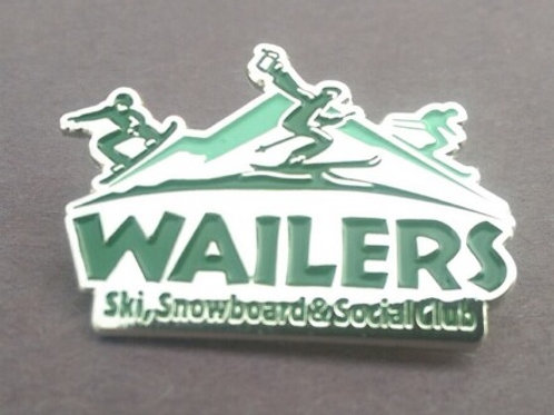 NEW & IMPROVED Wailers Club Pin!