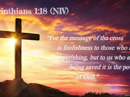 ✞ 1 Corinthians 1:18 ✞