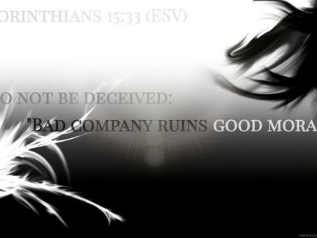 ✞ 1 Corinthians 15:33 ✞
