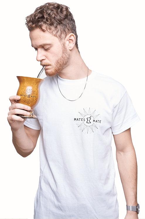 T-shirt weiß mit Logoprint
