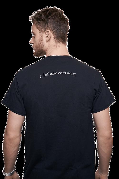 T-shirt schwarz mit Logoprint