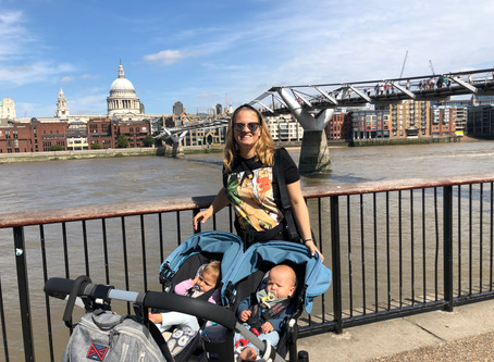Londonas su kūdikiais. Iššūkis ar atradimas?