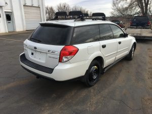 2009 Outback rear right