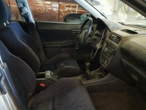 2003 WRX wagon interior