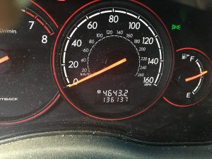 2005 Outback XT cluster