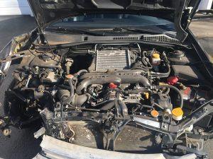 2009 legacy GT engine bay